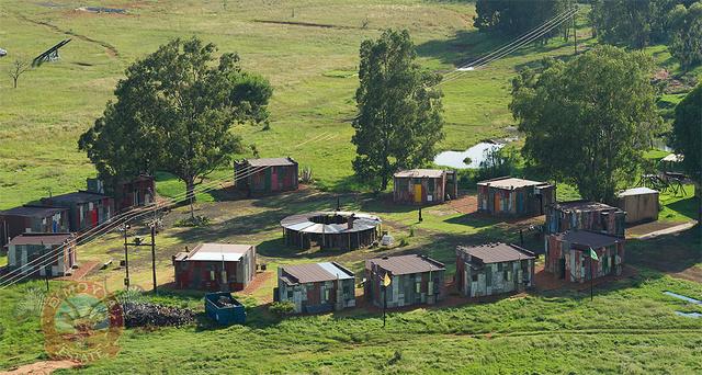 hotel luxo favela áfrica