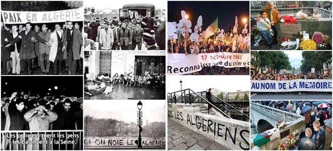 hitória massacre 1961 Paris Argélia