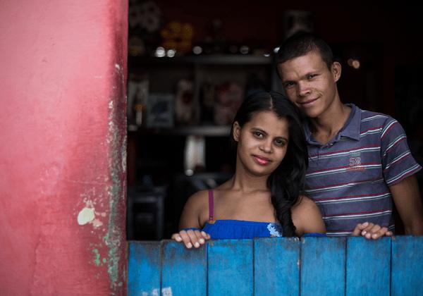 meninas casadas Brasil