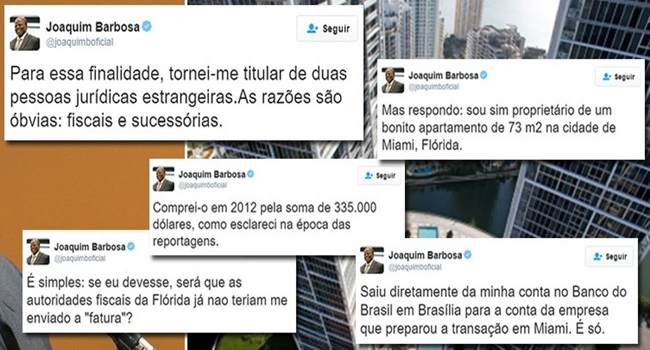 Panam Papers Joaquim Barbosa se defende de acusaes