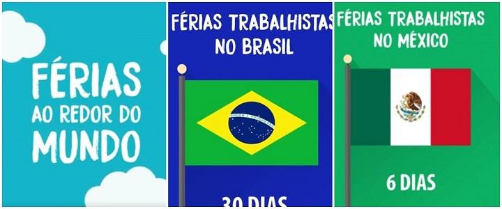 Ministério do Trabalho vídeo férias brasil