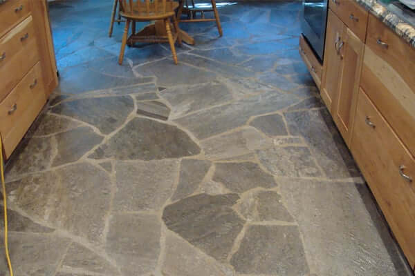 cork flooring in kitchen yellow rug unique types for kitchens | prague post