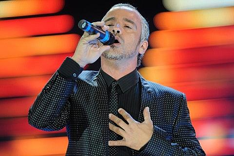 Eros Ramazotti concert in April 2013 in Prague