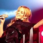 Kylie Minogue concert in Prague