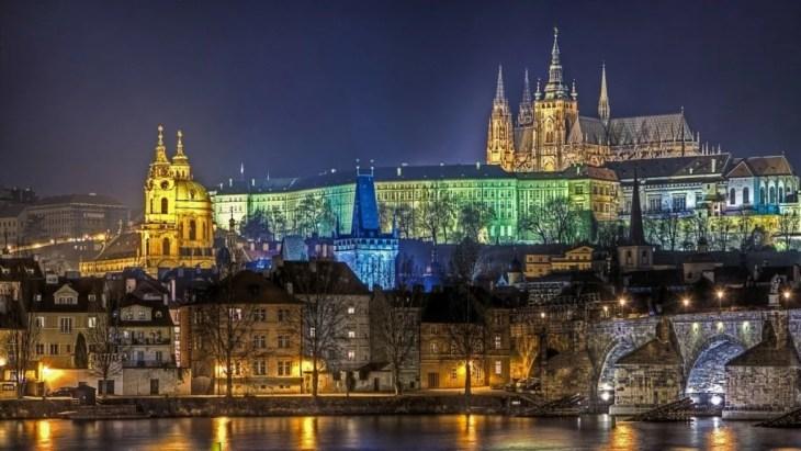 Ferie i Praha
