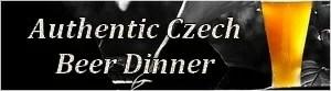 Beer Dinner Prague