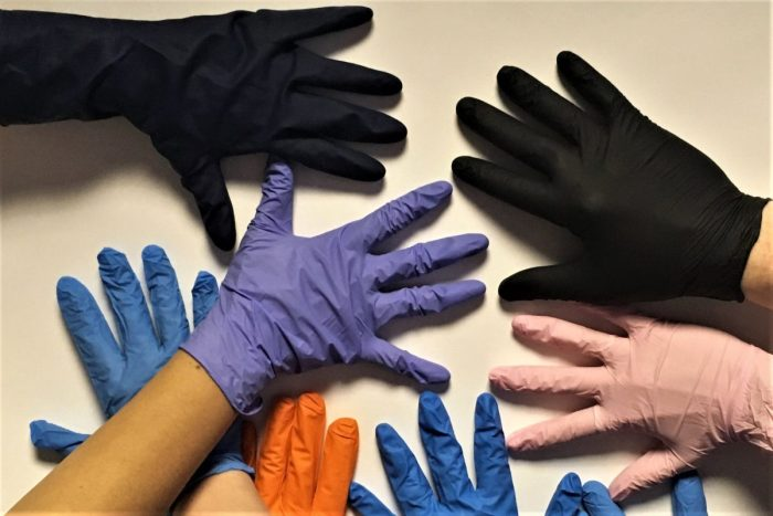 Glove It Up Colorfully While Working Safely at The Industry