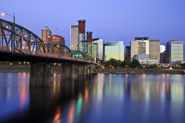Portland Willamette River