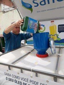 EM menos de uma semana já foram  recolhidos 500 litros