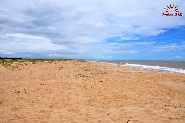 Praia da Barra de Itabapoana
