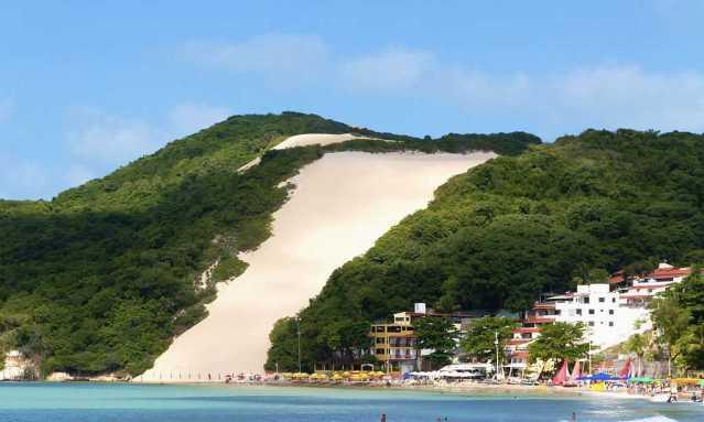Resultado de imagem para Praia de Ponta Negra