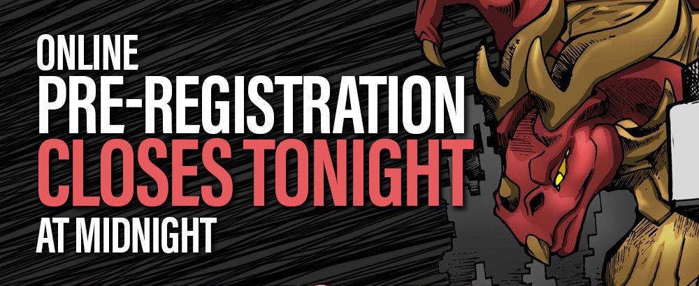 Pre-RegistrationClosesTonight
