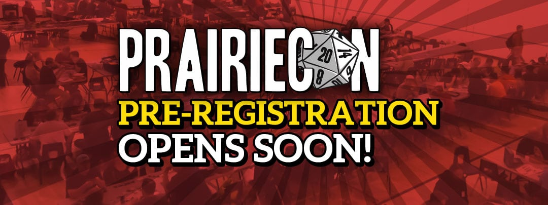 Pre-Registration is only a few days away!