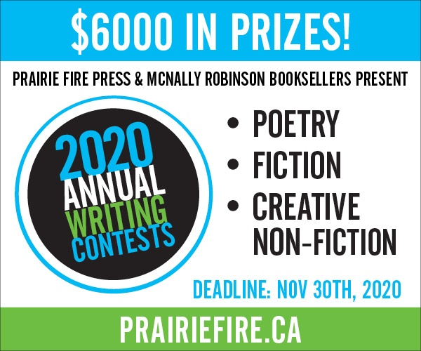 That's a wrap, folks! Our 2020 writing contests are now closed!