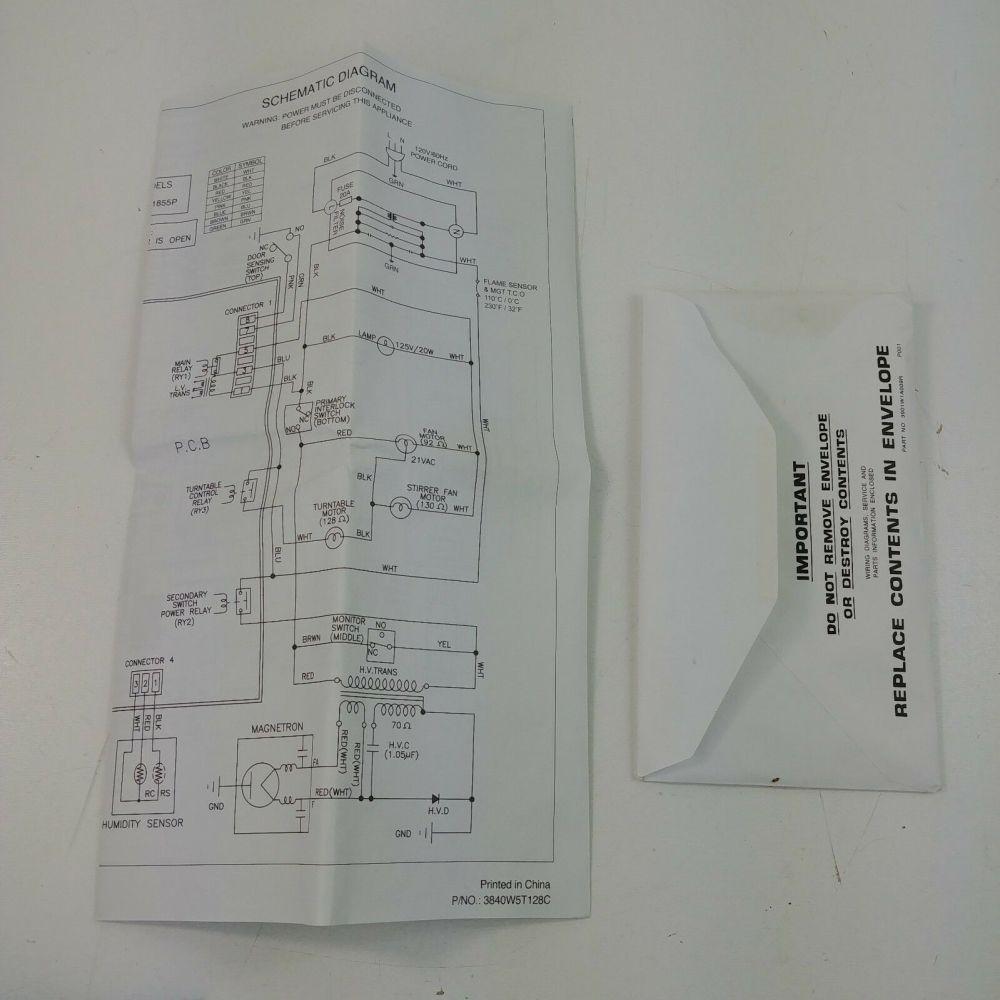 medium resolution of ge jes1855pbh microwave replacement tech schematicge jes1855pbh microwave replacement tech schematic diagram 3840w5t128c