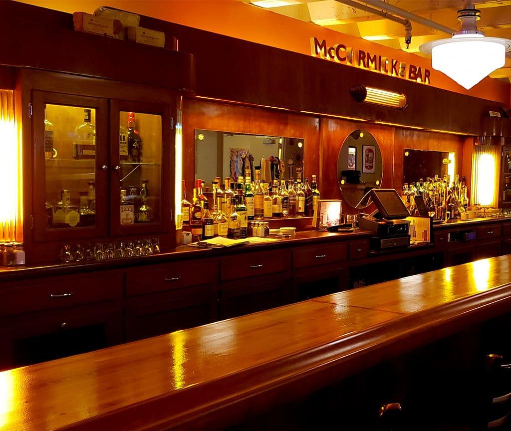 bar in evanston at prairie moon restaurant