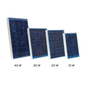 Solar Electric Fence Panels