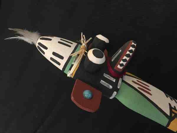 , Orland Honyumptewa (Hopi) – Pöökonghoya (Chief Kachina)