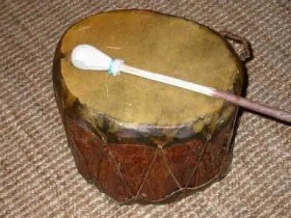 Indianer, Trommel, Basel, Schweiz, Shop, Laden, Cochiti-Trommel, Indianertrommel, doppelseitig bespannt, Cochiti-Trommel (doppelseitig bespannt)