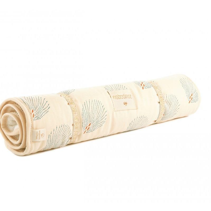 tapis a langer nomade bio gatsby creme