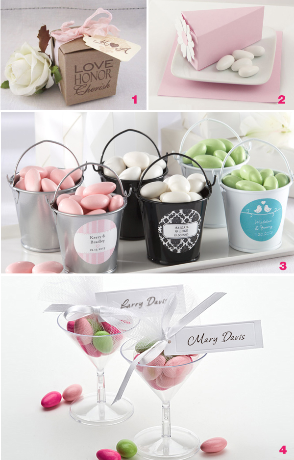 Small Bridal Shower Favors