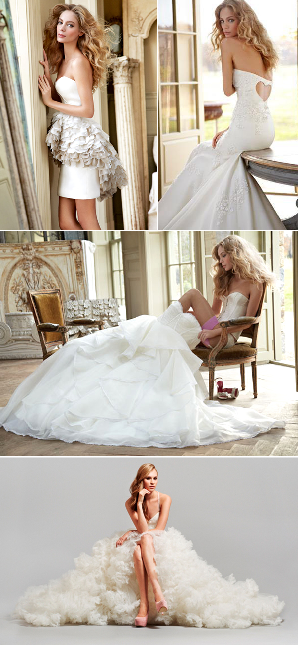 7 Talented Wedding Dress Designers and their Latest