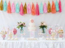 15 Adorable Pastel Dessert Table Designs - Praise Wedding