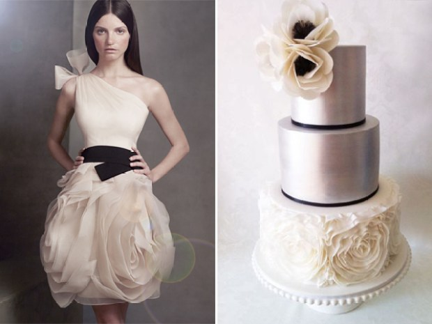 13-Vera Wang inspired cake by Yummy Cupcakes & Cakes