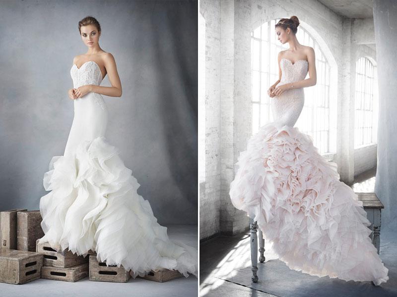 人魚公主的浪漫魅力 - 40件時尚曲線魚尾婚紗 - Praise Wed 國際時尚婚創雜誌