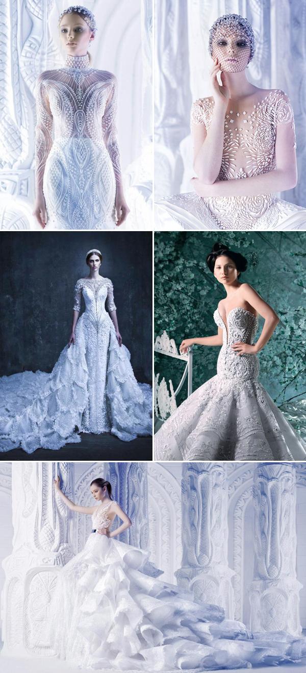 40 Stunning Cutting Edge Futuristic Wedding Gowns Praise Wedding