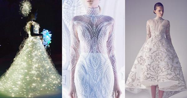 40 Stunning CuttingEdge Futuristic Wedding Gowns  Praise