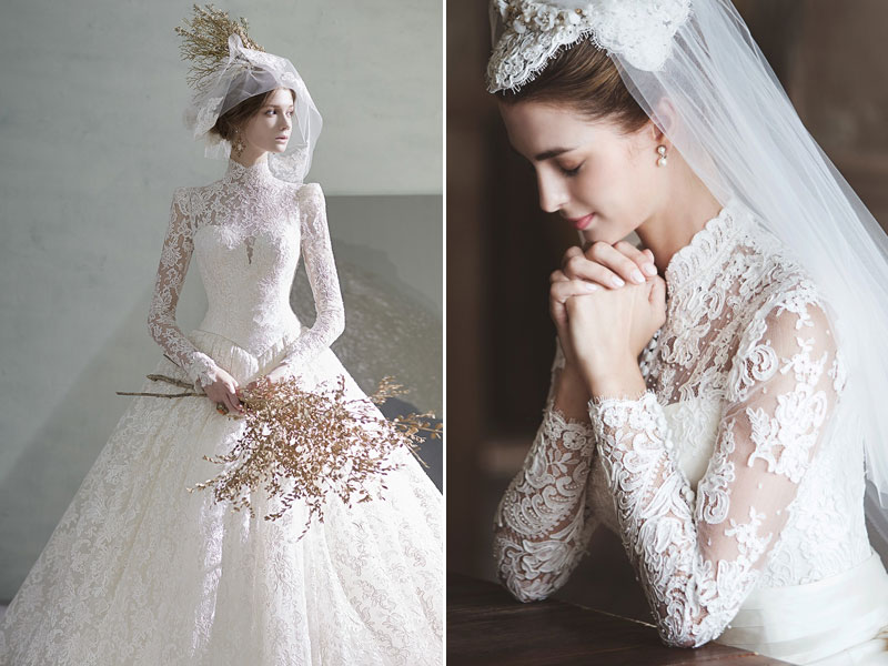 The Modesty Trend 27 Timeless Wedding Dresses with