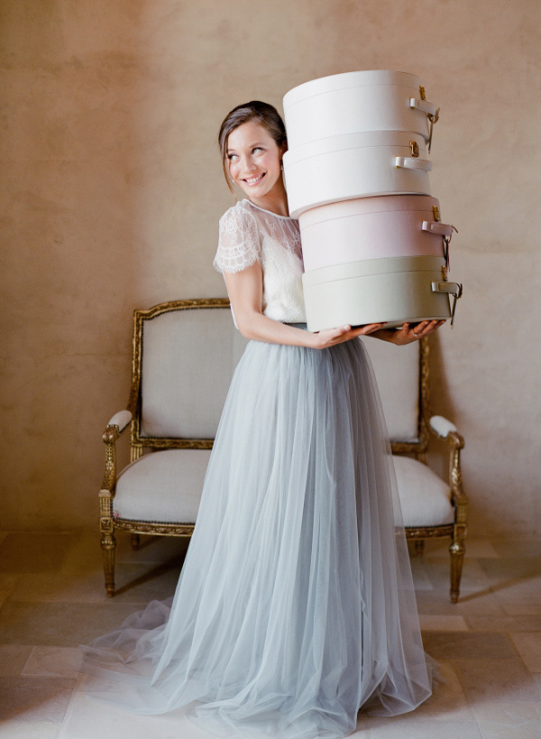 Bridal Separates 22 Brides Who Look Gorgeous in Their Two