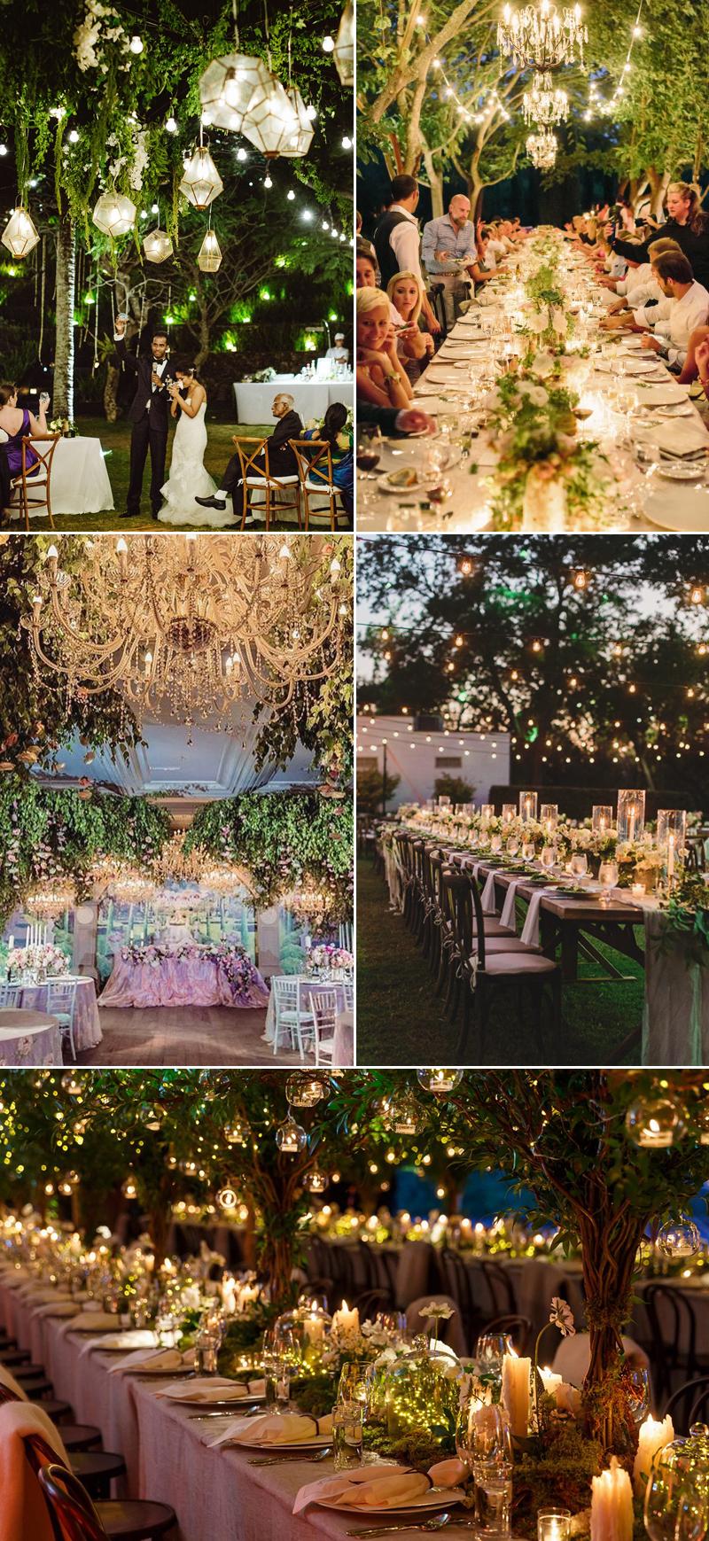 32 Decoration Ideas to Create a Magical Fairy Tale Reception  Praise Wedding