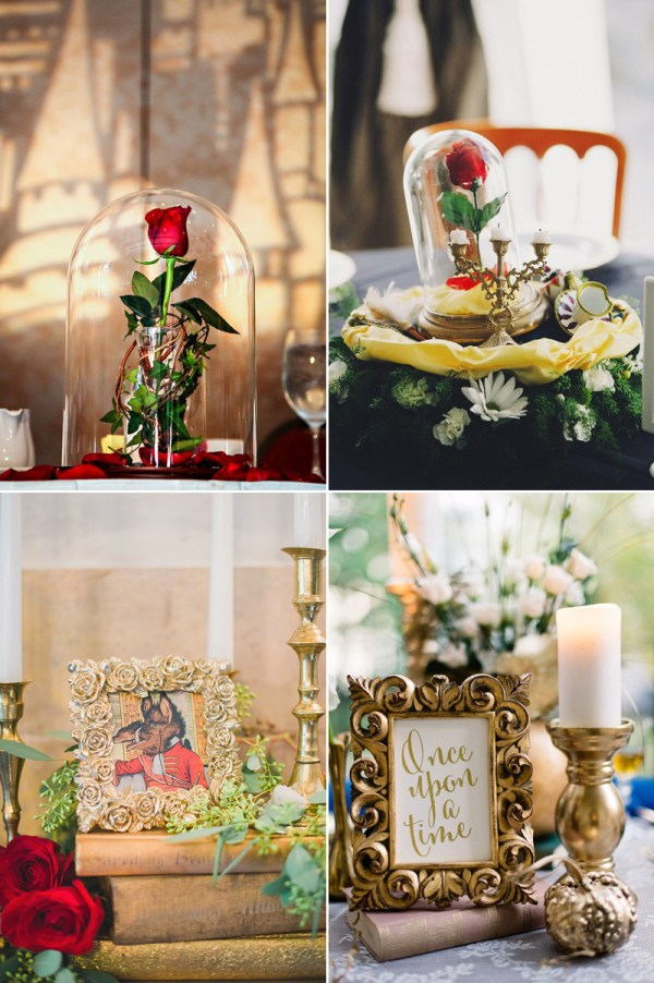 20 Beauty And The Beast Centerpiece Ideas Pictures And Ideas On