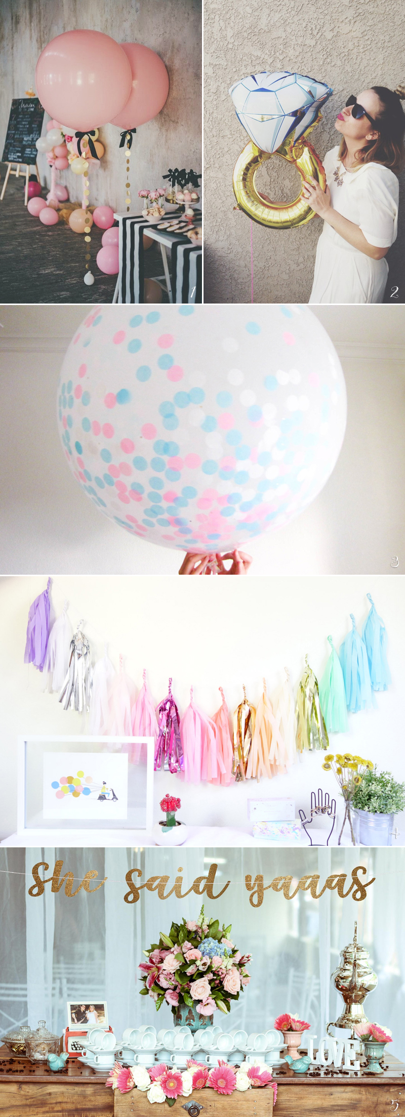 30 Creative Things You Need to Throw an Awesome Bridal