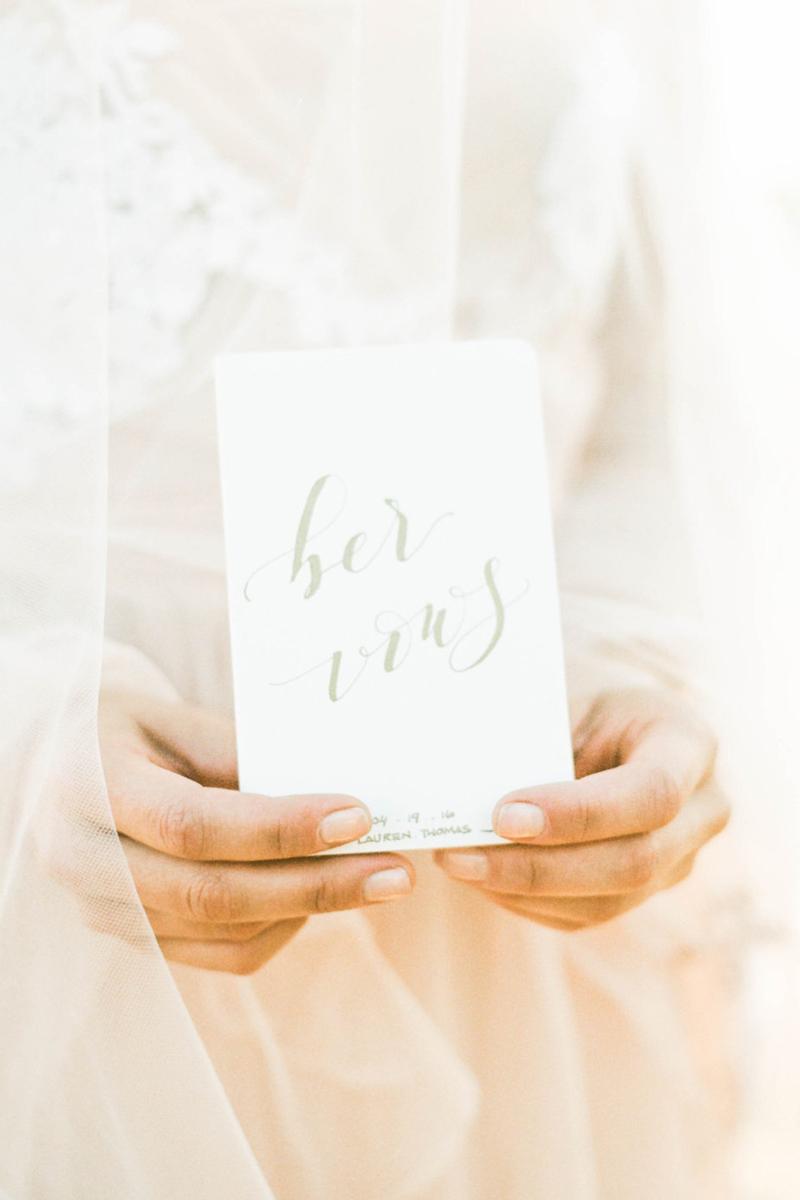 親筆紀錄的結婚誓詞! 12本精緻創意婚禮誓言小冊! - Praise Wed 國際時尚婚創雜誌