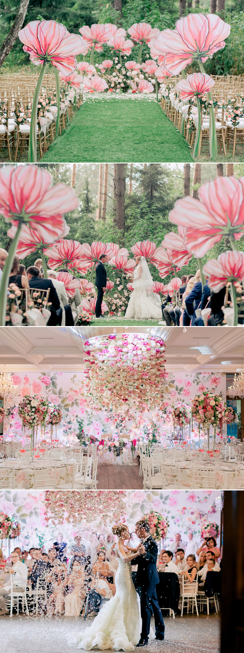 7 Incredibly Magical Themes For Spring Fairytale Weddings  Praise Wedding