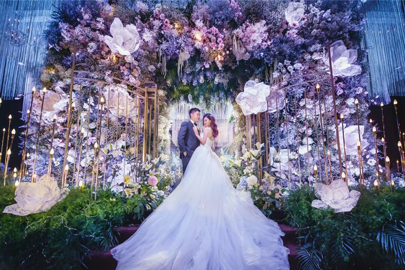 6 Breathtaking Fairy Tale Inspired Indoor Wedding Dcor
