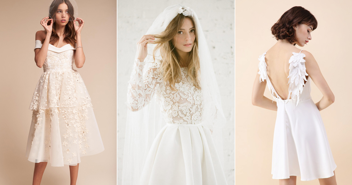 20 Pretty Little White Dresses For All Your Pre Wedding Events Praise Wedding