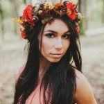 15 Beautiful Flower Crowns For Autumn Brides Praise Wedding