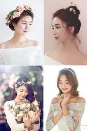 6 korean bridal hair & makeup style