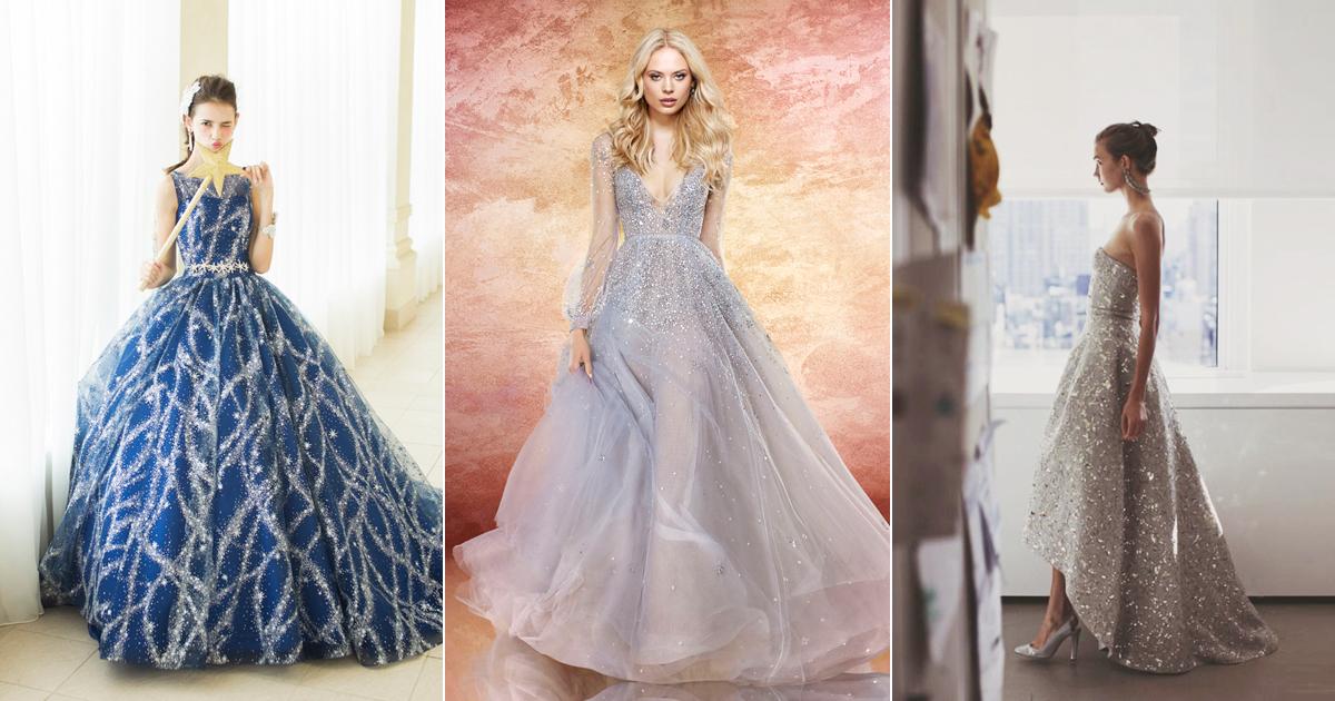 20 Magical Celestial Wedding Dresses For StarCrossed