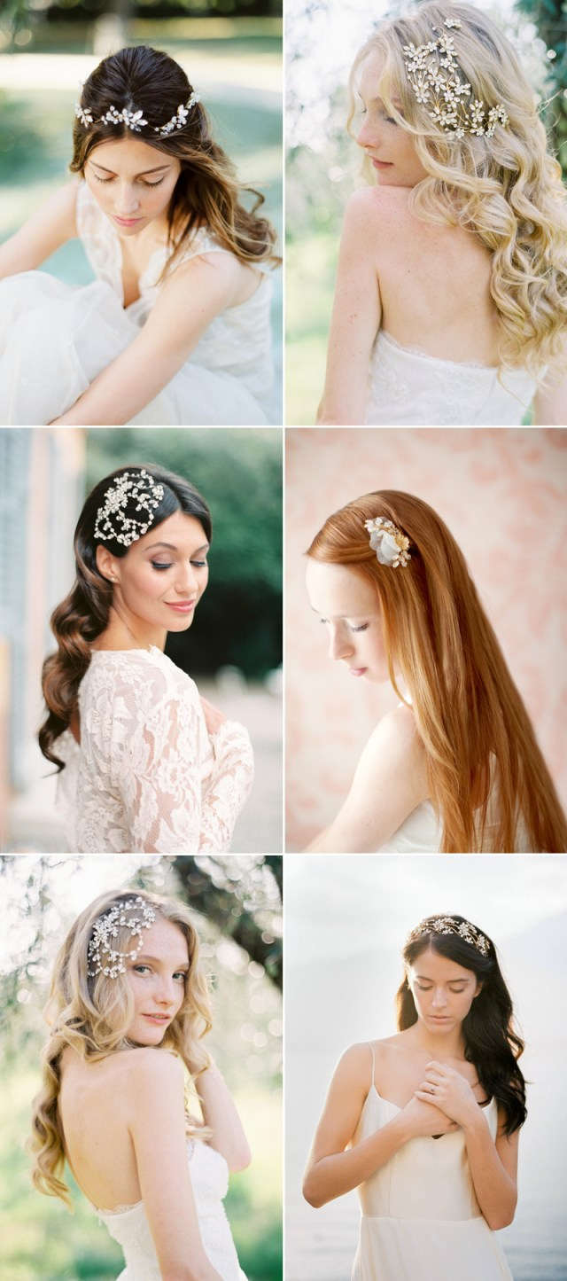 how to wear your hair down for your wedding? 30 chic hair