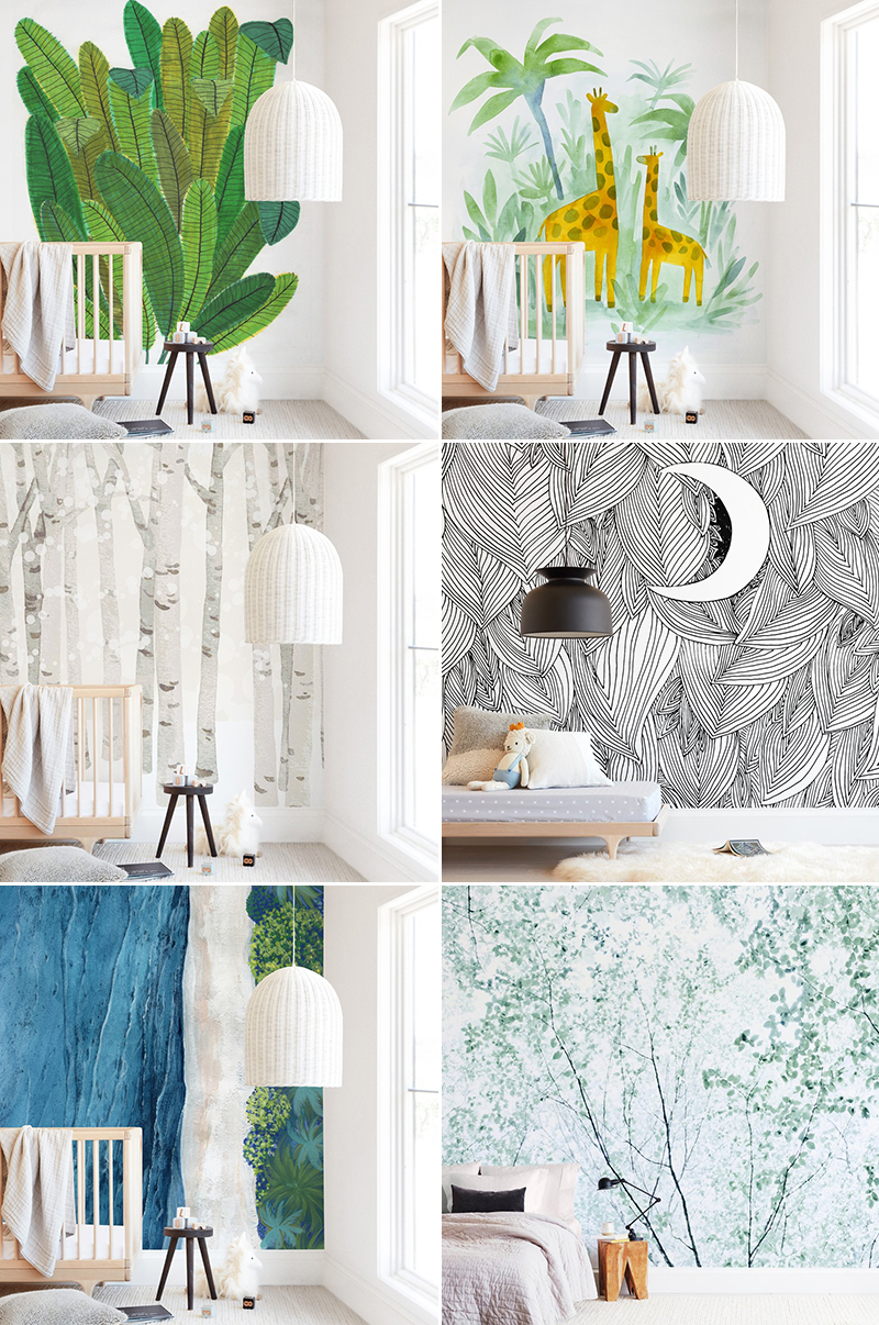 Tree equipment design's complete lineup of equipment includes: Whimsy Woodland Themed Nursery Trend 24 Modern Baby S Room Wallpapers With Major Enchanted Forest Vibes Praise Wedding