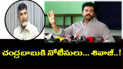 hero sivaji coments about ap cm chandrababu