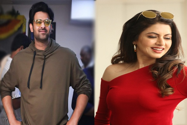 bhagya sri on prabhas movie