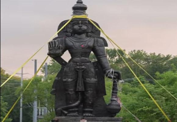 hanuman statue in america