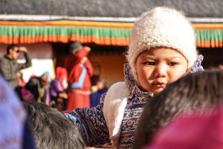 Children in Leh