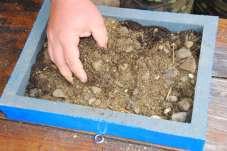 Plnenie štrkom, pieskom a substrátom
